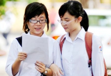 Đáp án đề thi tốt nghiệp môn Toán hệ GDTX của Bộ GD&ĐT năm 2014
