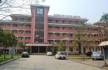 Tỷ lệ chọi vào lớp 10 THPT chuyên Lam Sơn tăng cao