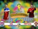 Lịch phát sóng World Cup 2014 ngày 23/6 - 24/6/2014