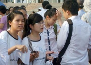 Đáp án đề thi vào lớp 10 tỉnh Tuyên Quang môn Toán năm 2014