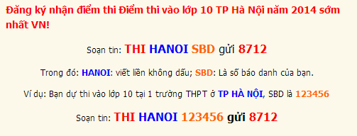 Dap an de thi vao lop 10 mon Toan Ha Noi nam 2014