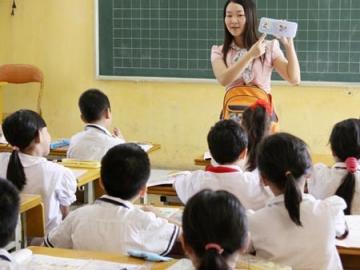 Vĩnh Phúc tuyển 212 giáo viên tiểu học