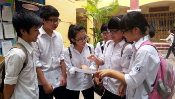 Điểm thi vào lớp 10 Hà Nội năm 2014