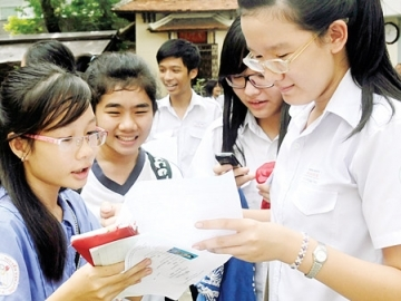 Điểm thi vào lớp 10 Thừa Thiên Huế năm 2014