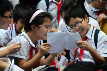 Đề khảo sát chất lượng đầu năm lớp 6 môn tiếng việt THCS Tân Trường 2014.