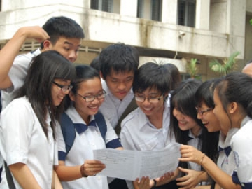 Đề thi chọn vào lớp 6 tiếng anh chuẩn trường THCS Lê Lợi năm 2014