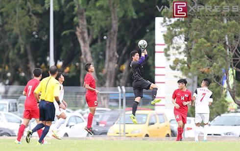 Tuong thuat truc tiep tran U19Viet Nam - U23 Singapore