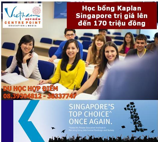 Bi quyet tiet kiem chi phi du hoc Singapore cua Kaplan