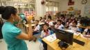 Tiếng Anh là môn học bắt buộc với học sinh lớp 3, lớp 4