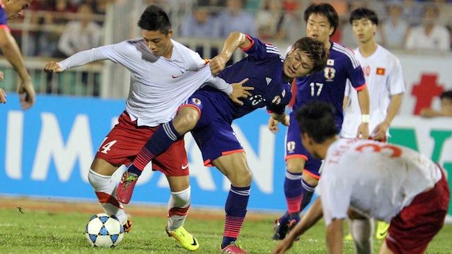 U19 Việt Nam - U19 Nhật Bản: Cuộc