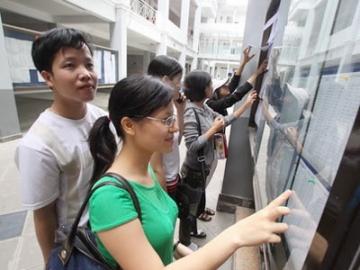 Phúc khảo điểm thi đại học 2014: Hàng trăm thí sinh trượt thành đỗ