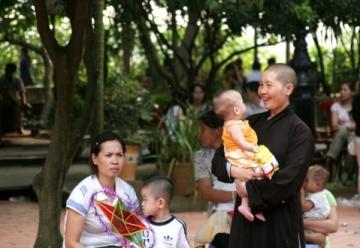 Đã tìm thấy hầu hết tung tích các bé bị mất tích ở chùa Bồ Đề