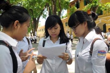 Giữ môn thi theo các khối tuyển sinh Đại học, cao đẳng 2015
