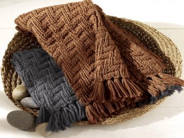 Hướng dẫn cách đan khăn len nam cực đẹp