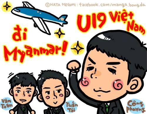 Nu phong vien nguoi Nhat co vu het minh cho U19 Viet Nam