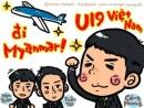 Nữ phóng viên người Nhật cổ vũ hết mình cho U19 Việt Nam