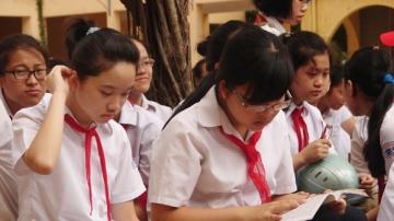 Đề thi giữa học kỳ 1 lớp 5 môn Toán trường Tiểu học Cắm Muộn 2 năm 2014