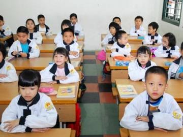 Đề thi giữa học kỳ 1 lớp 1 môn tiếng việt trường tiểu học Hứa Tạo năm 2014