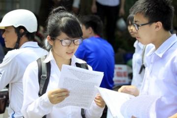 Điểm trung bình thi đại học các trường THPT tại Hà Nội