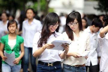 Nhiều trường đại học lựa chọn tổ hợp môn thi