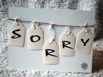Những lời xin lỗi bạn trai chân thành nhẩt