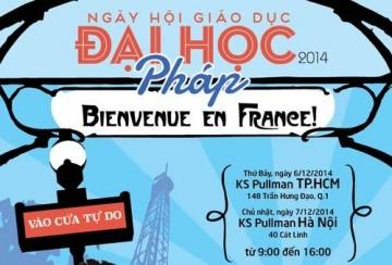 Ngày hội giáo dục Đại học Pháp tại Việt Nam