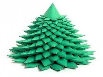 Cách làm cây thông xinh xắn cho ngày Noel