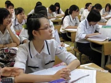 Đề thi học kì 1 lớp 9 môn Anh năm 2014 - THCS Phan Bội Châu
