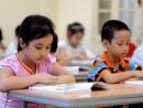 Đề thi học kì 1 lớp 1 môn Tiếng Việt - TH An Phú Tân A năm 2014