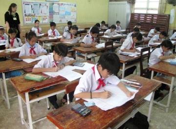 Đề thi học kì 1 lớp 7 môn Toán THCS Mỹ Quang năm 2014