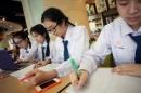Đề thi học kì 1 lớp 7 môn Toán năm 2014 THCS Nghi Phú