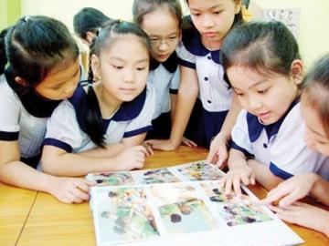 Đề thi cuối học kì 1 lớp 4 môn Tiếng Việt - TH Lương Tài năm 2014