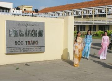 Phương án tuyển sinh Cao đẳng cộng đồng Sóc Trăng 2015