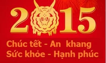 Lời chúc tết 2015 hay độc lạ và đầy ý nghĩa