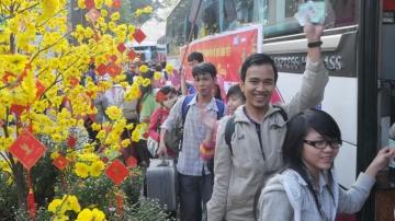 Đà Nẵng: Tặng 1000 vé xe tết miễn phí cho sinh viên
