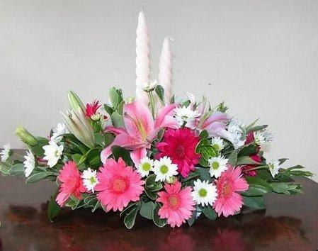 Cắm hoa ngày phụ nữ Việt Nam