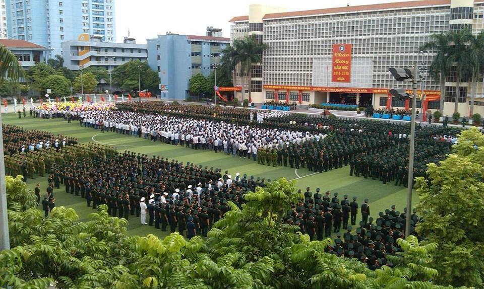 Chỉ tiêu tuyển sinh của các trường quân đội năm 2015