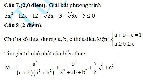 De thi thu THPT Quoc gia mon Toan 2015 THPT chuyen Thang Long
