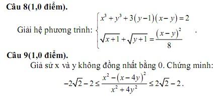 De thi thu THPT Quoc gia mon Toan nam 2015 - THPT chuyen Luong Van Chanh