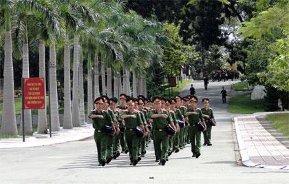 Trường sĩ quan phòng hóa tuyển sinh năm 2015