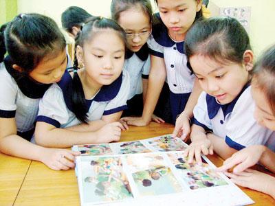 Đề kiểm tra giữa học kì 2 lớp 1 môn Toán - TH Hồ Văn Cường năm 2015