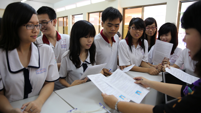 Đề thi thử THPT quốc gia môn sinh - THPT số 2 Bảo Thắng năm 2015