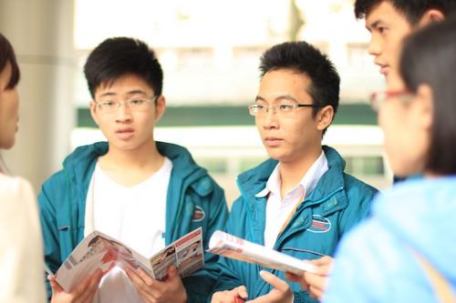 Phân chia thí sinh đăng ký cụm thi THPT Quốc gia 2015 tại Hà Nội