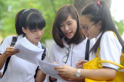 Phân chia thí sinh đăng ký cụm thi tại Hải Phòng năm 2015