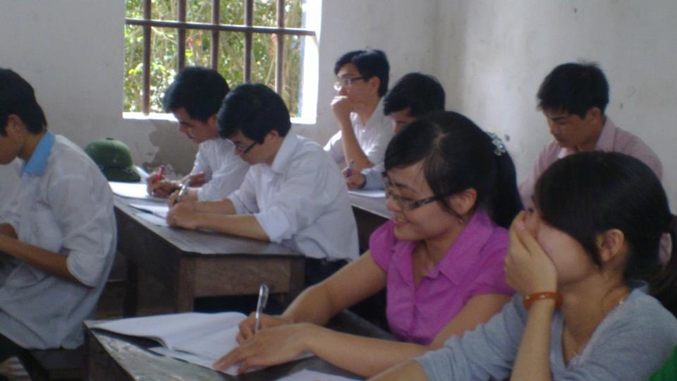 Huế công bố 12 điểm thi tại cụm địa phương 2015