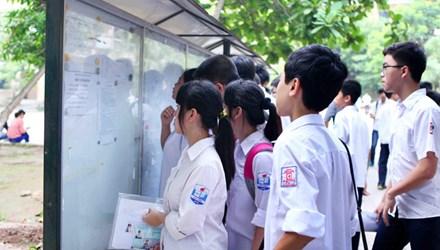 Điểm chuẩn vào lớp 10 Đồng Nai năm 2015
