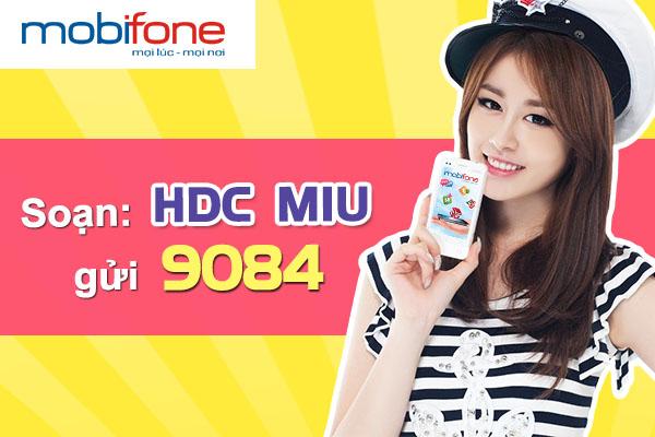 Thông tin danh sách các gói cước 3G mạng Mobifone