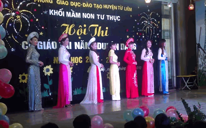 Sở GD Hà Nội tổ chức hội thi cô giáo tài năng duyên dáng lần thứ 5