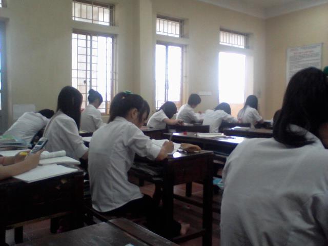 Cấu trúc đề thi học kì 1 lớp 10, 11, 12 THPT tại TPHCM 2015