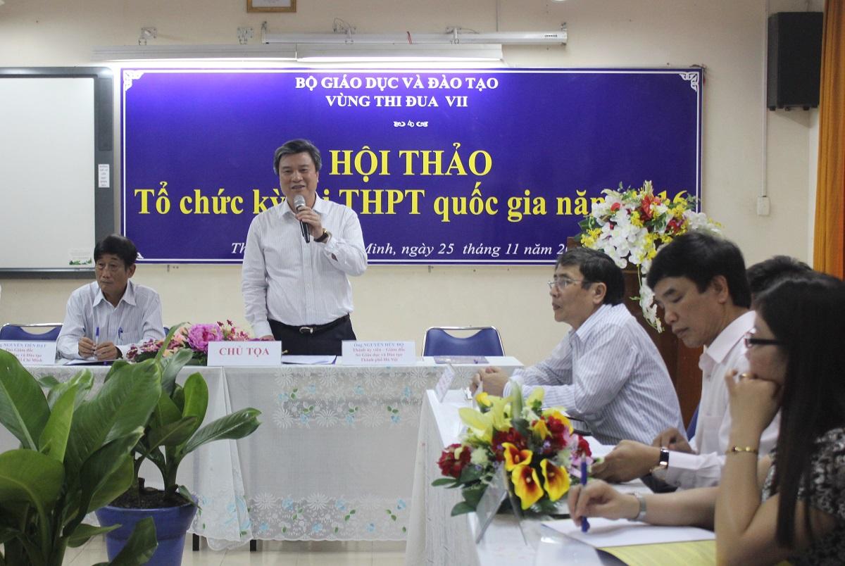 Đề xuất thi THPT quốc gia 2016 vào đầu tháng 6